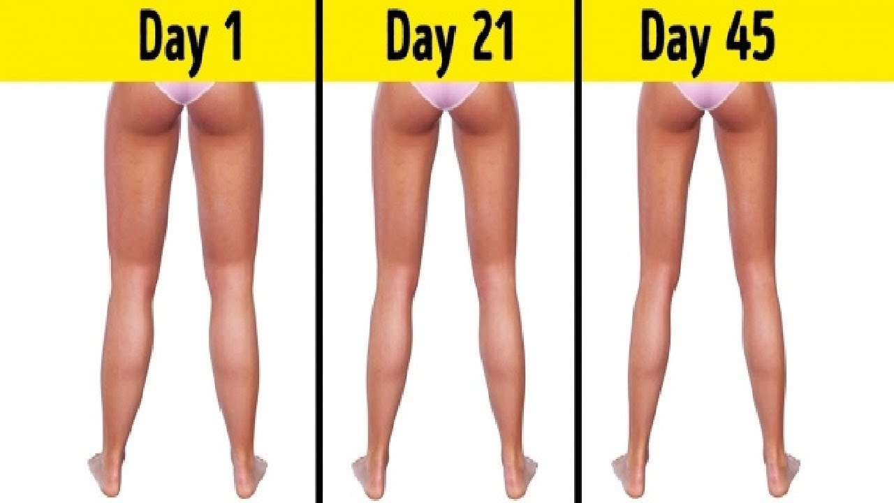 how to make thin thighs fast