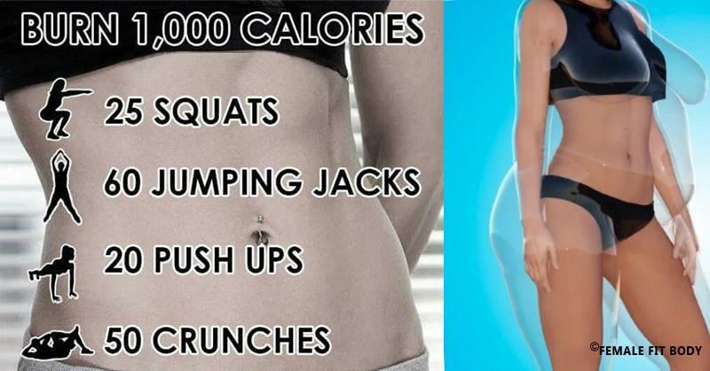 Burn 1,000 Calories in 20 Minutes