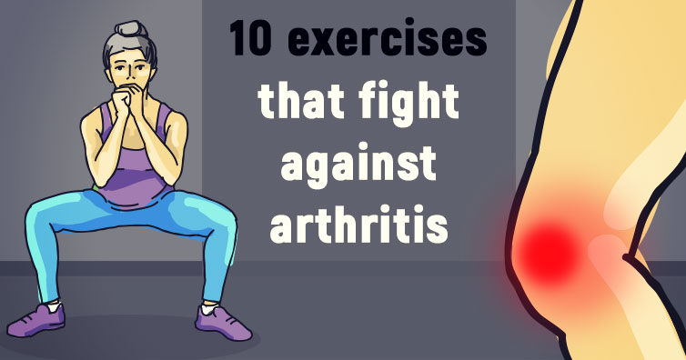 Moves That Fight Against Arthritis And Bring Back Flexibility In The Joints