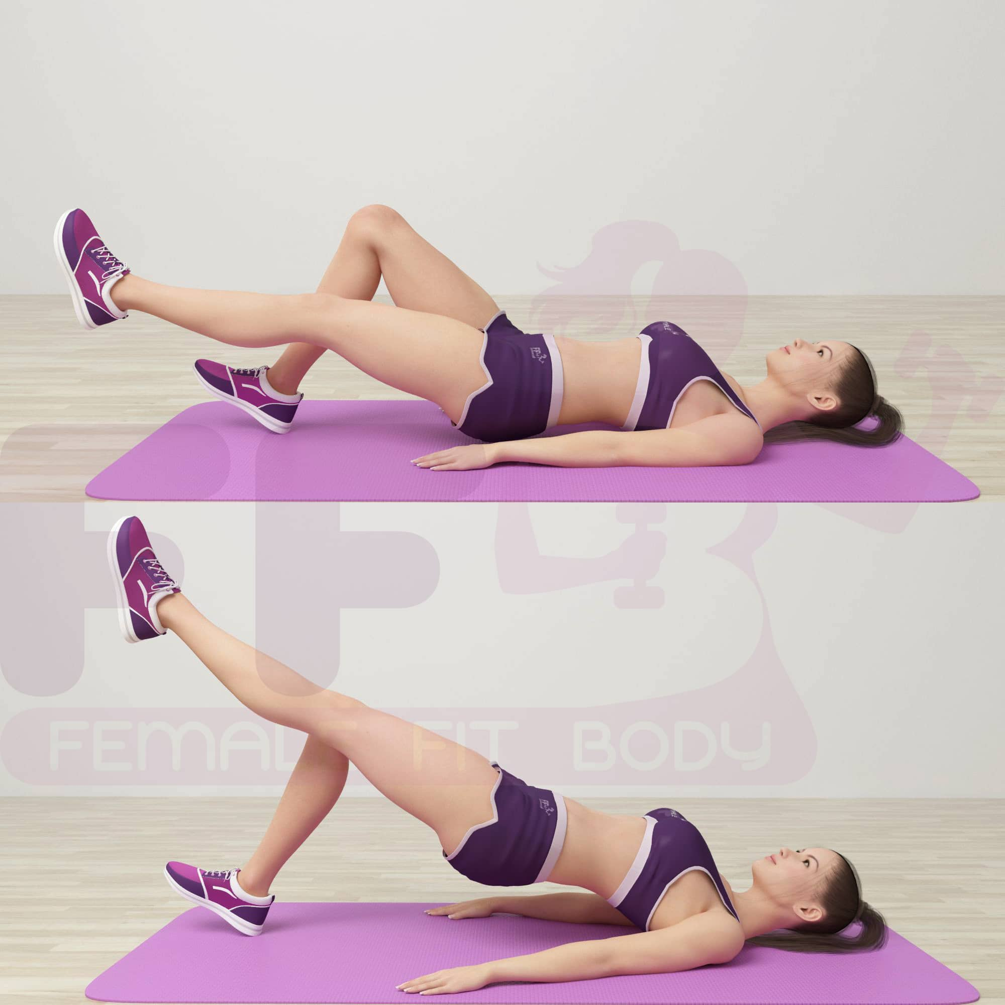 8.Single-Leg-Glute-Bridges