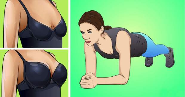 4 EXERCISES THAT CAN LIFT YOUR BREASTS!