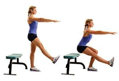 One-leg squats