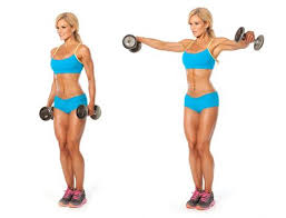 Side-Shoulder-Dumbbell-Raises