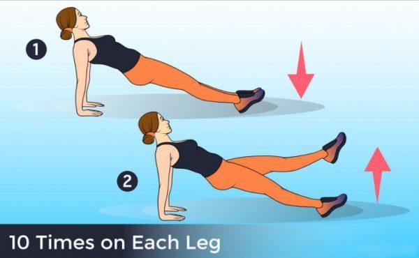 plank leg