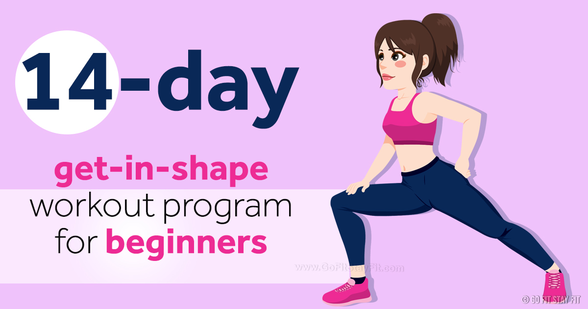 14-Day-Get-in-Shape-Workout-Program-for-Beginners