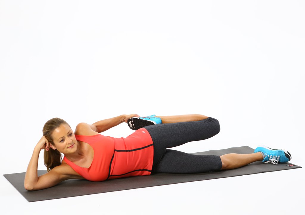 Lying-Side-Quad-Stretch