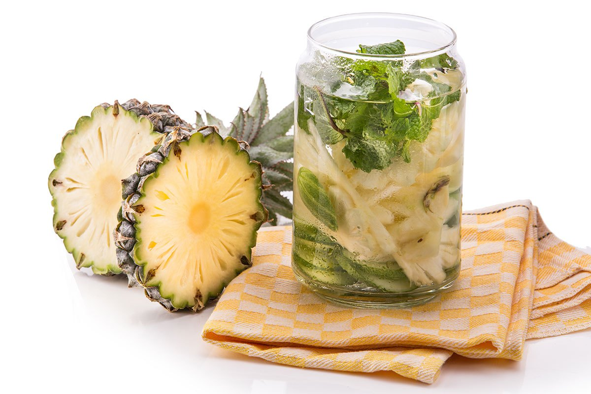Pineapple-Cucumber-Water