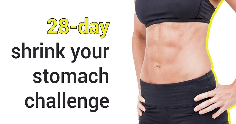 The-28-Day-Shrink-Your-Stomach-Challenge