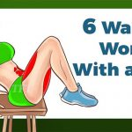 5 Workouts For a Perfect Abs You Only Need a Chair