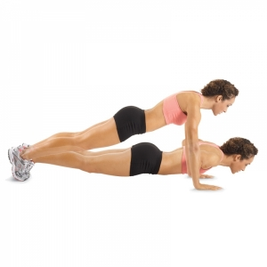 2. Basic Push Up