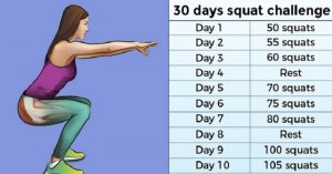 30-Day Squat Challenge That Can Help You Get the Butt of Your Dreams