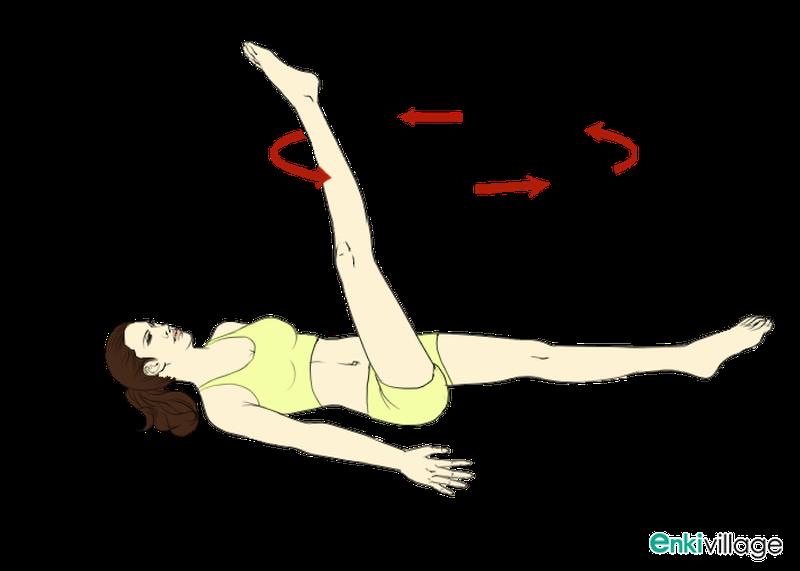 The Single-Leg Circle