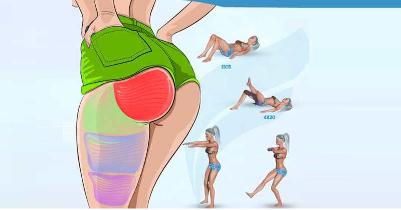 A Killer Butt Workout You Can Do at Home