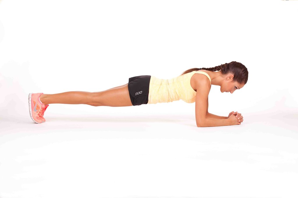 Plank x 30 sec