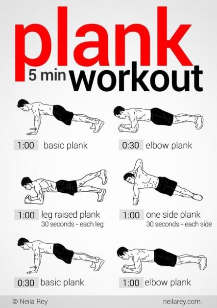 planks exercises
