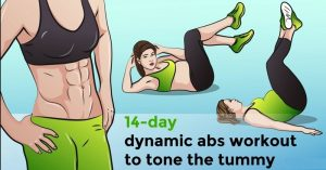 14 Day Dynamic ABS Workout to Tone the Tummy