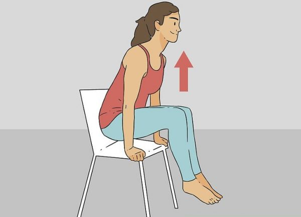 BODY LIFTING FROM CHAIR