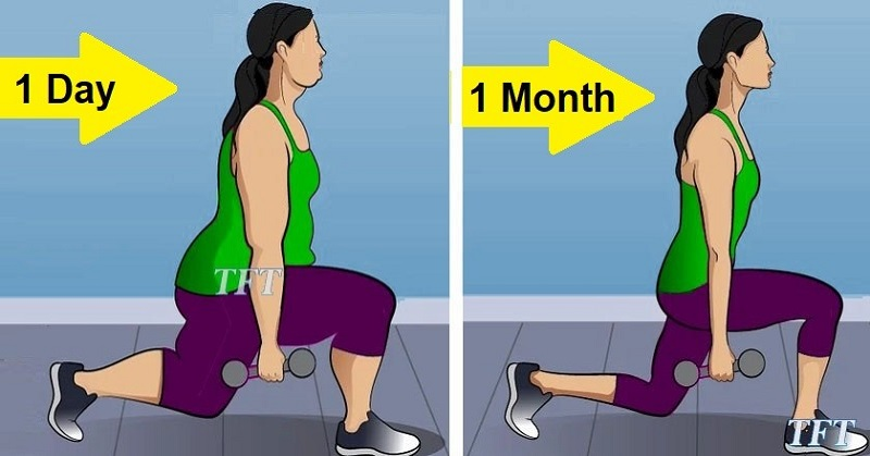 4 WEEKS WITH THESE 5 SIMPLE EXERCISES
