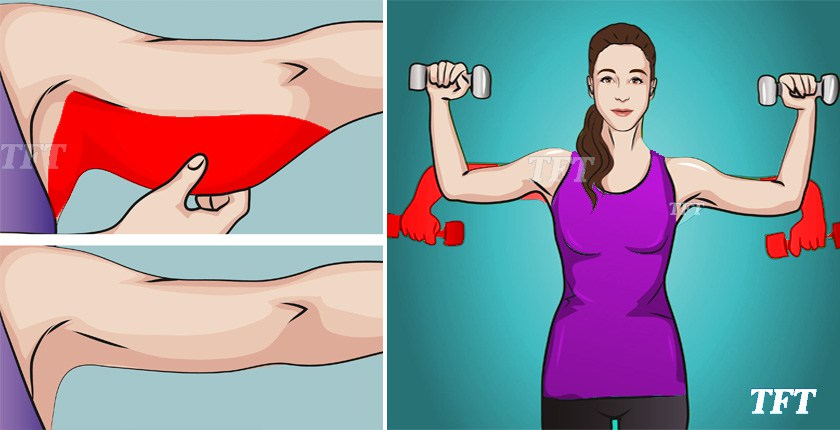 5 easy exercises for strong arms