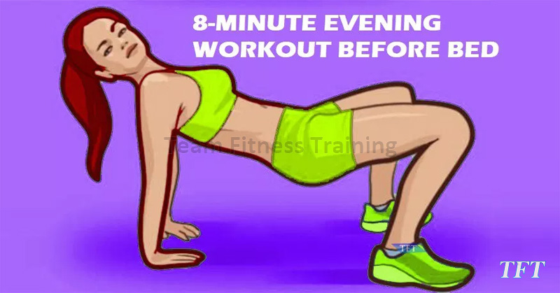 8-MINUTE EVENING WORKOUT BEFORE BED