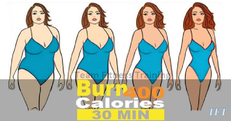 HOW TO BURN CALORIES AT HOME – BURN 400 CALORIES FOR 30 MINUTES(VIDEO)