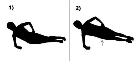 Side Plank Hip Raises