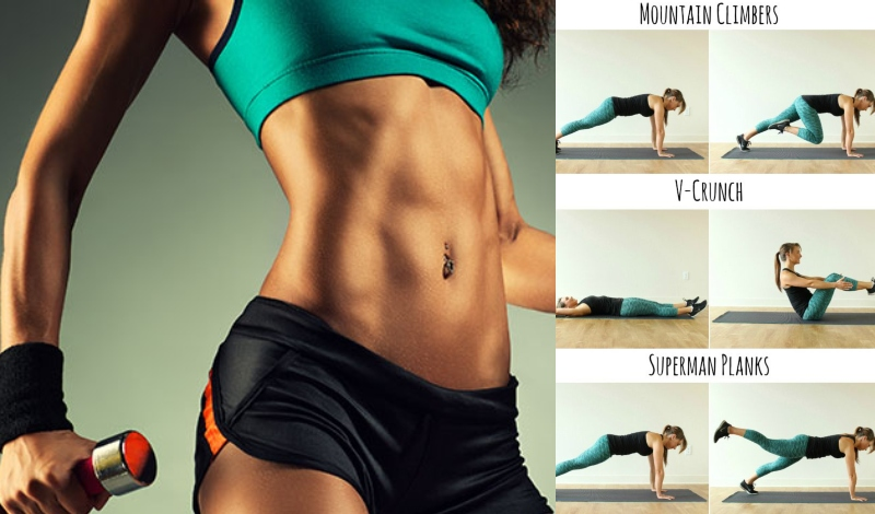 10 Simple Yet Effective Exercises to Flatten Your Belly
