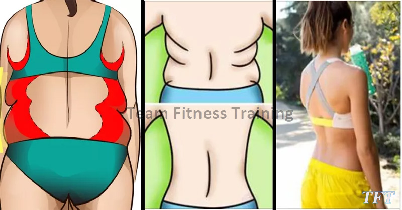 FOLDS ON BACK AND BRA BULGE PREVENT YOU FROM WEARING SEXY BACKLESS DRESSES? DO THESE EXERCISES TO STOP THEM!