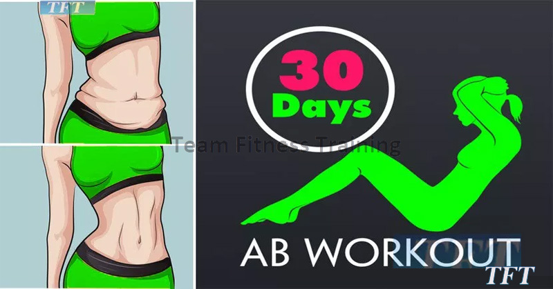 30 Day Flat Abs Challenge!