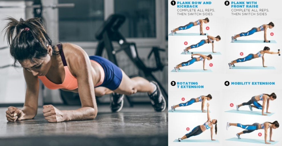If You Want to Slim Your Waist And Sculpt A Strong Defined Core These Are the 5 Best Side Plank Variations