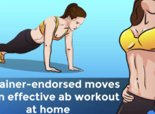10 trainer-endorsed moves for an effective ab workout at home