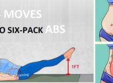 4 SIMPLE, BUT VERY EFFECTIVE EXERCISES TO GET STUNNING ABS IN 8 MINUTES